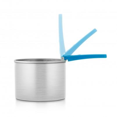 Recipient pentru încălzit ceara cu mâner pliabil Xanitalia 400 ml