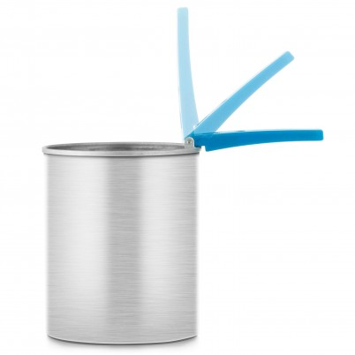 Recipient pentru încălzit ceara cu mâner pliabil Xanitalia 800 ml