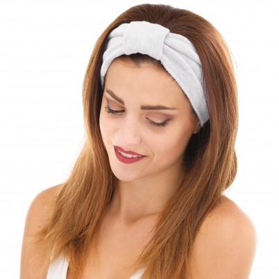 Bentiță cosmetică albă cu velcro Xanitalia