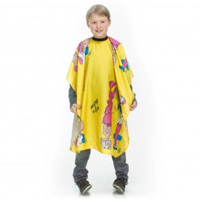 Pelerină pentru tuns copii Xanitalia Yellow