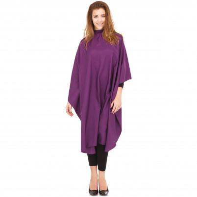Pelerină pentru tuns Xanitalia Comfort Pro - violet