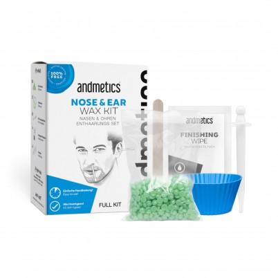 Kit epilare ceară pentru urechi și nas bărbați andmetics EAR & NOSE Wax Kit