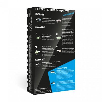 Benzi depilatoare profesionale sprâncene bărbați andmetics PROFESSIONAL BROW Wax Strips Men Big Box 10