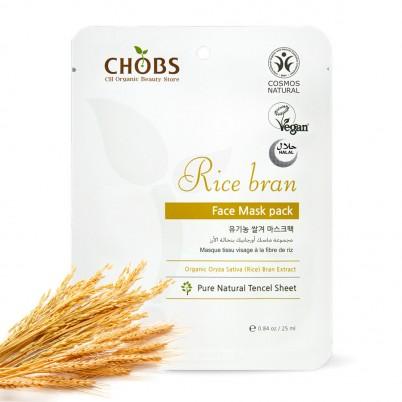 Mască Organică de față cu tărâțe de orez CHOBS