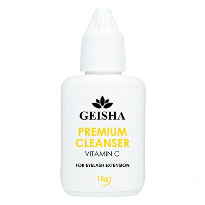 GEISHA LASHES PREMIUM CLEANSER VITAMIN C