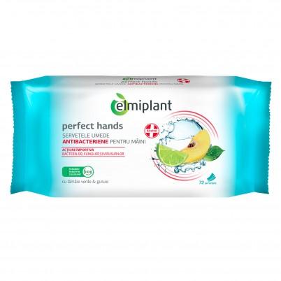 Servetele Umede Antibacteriene 72 buc - Elmiplant