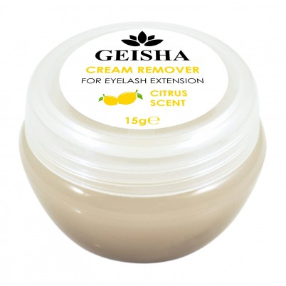 GEISHA LASHES CREAM REMOVER ADEZIV YELLOW - Citrus