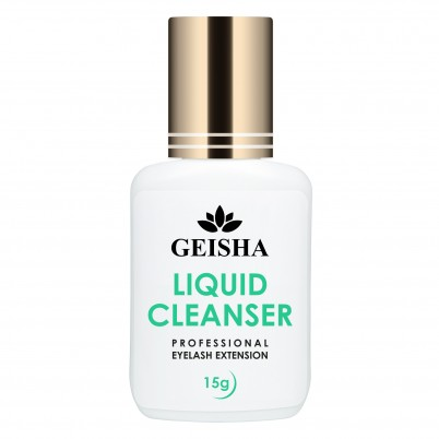 GEISHA LASHES EYELASH CLEANSER LIQUID