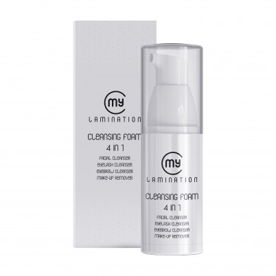 MY LAMINATION CLEANSING FOAM 4 in 1 - 120ml