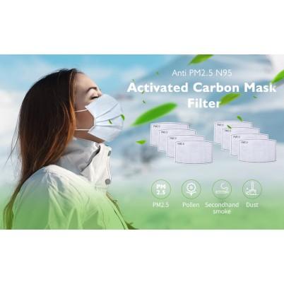 Set 10 Filtre Carbon Activ PM 2.5