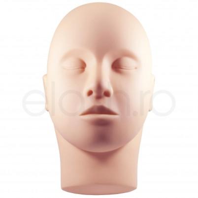 Eyelashes Extension Practice Mannequin Head - GEISHA COSMETICS