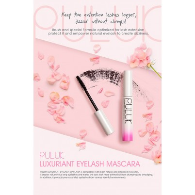 PULUK Luxuriant Eyelash Mascara Black – 10ml
