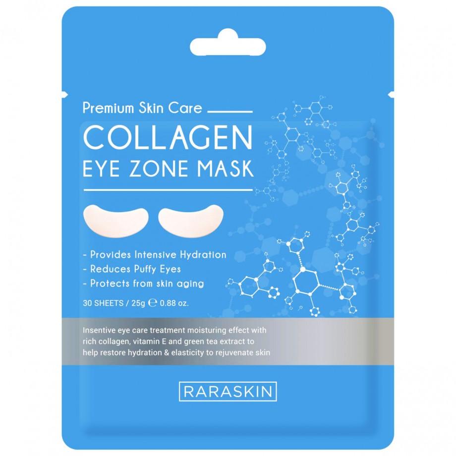 RARASKIN Mască cu Colagen pentru ochi 30 Plasturi - 25ml