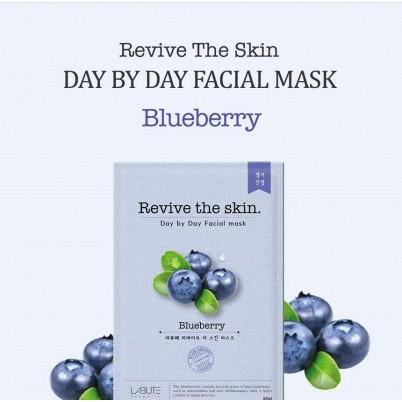 LABUTE Revive the skin - Mască facială cu Afine 23ml
