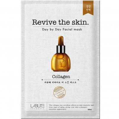 LABUTE Revive the skin - Mască facială cu Colagen 23ml