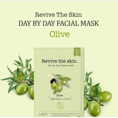 LABUTE Revive the skin - Mască facială cu extract de Măsline 23ml