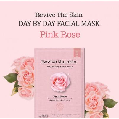 LABUTE Revive the skin - Mască facială cu Trandafir 23ml