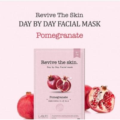 LABUTE Revive the skin - Mască facială cu Rodie 23ml