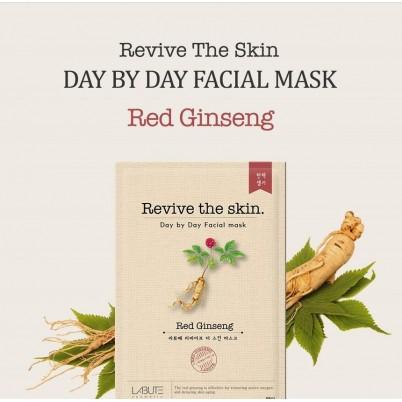 LABUTE Revive the skin - Mască facială cu Ginseng Roșu 23ml