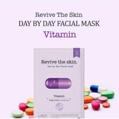 LABUTE Revive the skin - Mască facială cu Vitamine 23ml