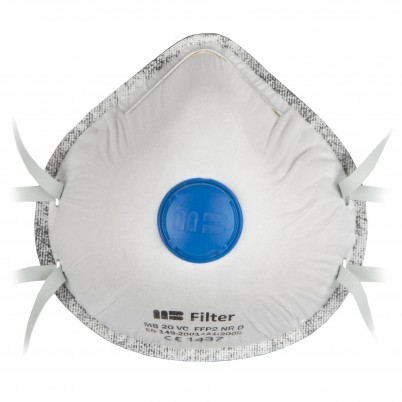 Carbon Respiratory Masks with FFP 2 Valves set 3 pieces
