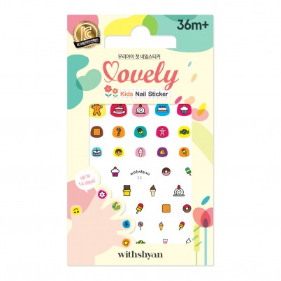Lovely Kids Nail Sticker WithShyan No.11