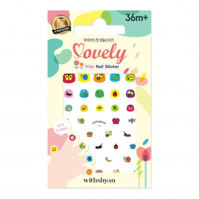 Lovely Kids Nail Sticker WithShyan No.15