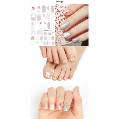 Sticker Sheet for manicure & pedicure WITHSHYAN Nail Dress No. 02