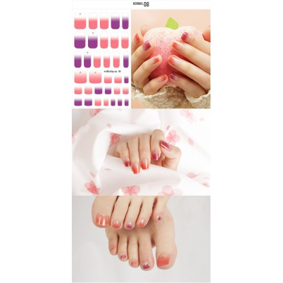 Sticker Sheet for manicure & pedicure WITHSHYAN Nail Dress No. 08