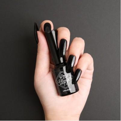 ONE STEP GEL B.01 Black WITHSHYAN 10 ML