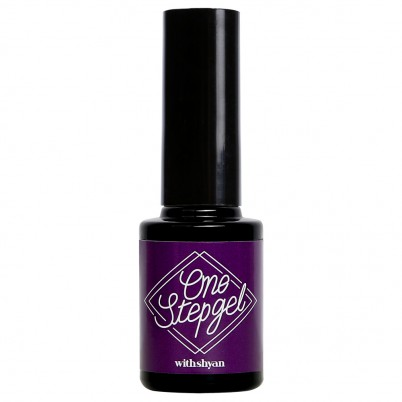 ONE STEP GEL No. 12 Odd Purple WITHSHYAN 10 ML