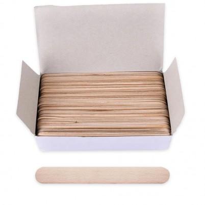 Set 200 spatule din lemn - 15 cm
