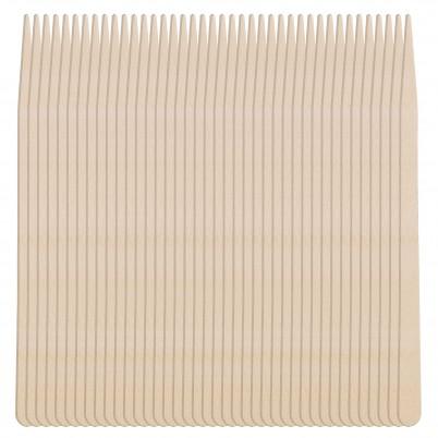 Set 100 spatule din lemn - 8.8 cm