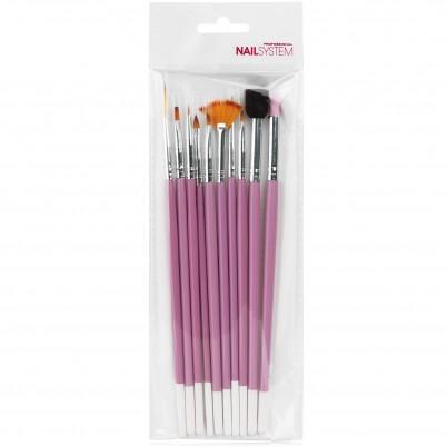 Nail Art Kit Pro 1 Xanitalia - 10 instrumente profesionale