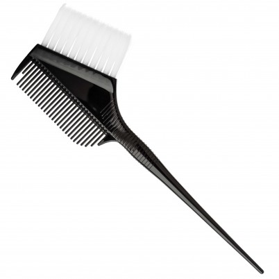 Xanitalia Professional Flat Tinting Brush with comb - ultra-soft