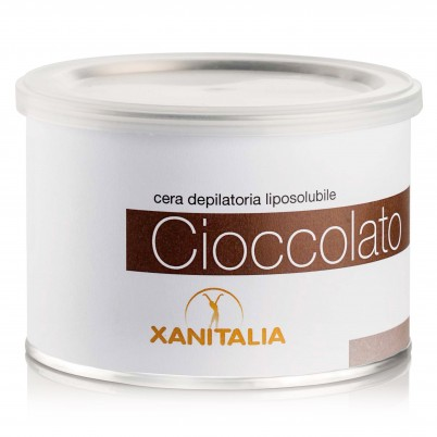 Xanitalia Liposoluble Hair Removal Wax Chocolate - 400 ml