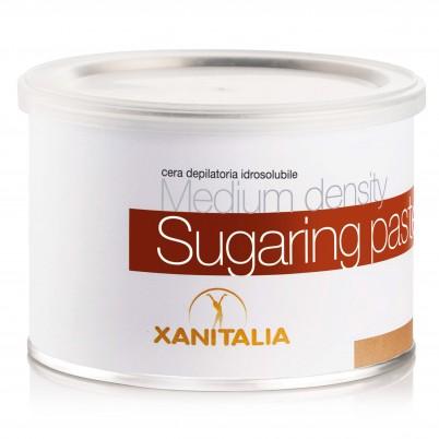 Pastă de zahăr hidrosolubilă pentru epilare Xanitalia Medium 500ml