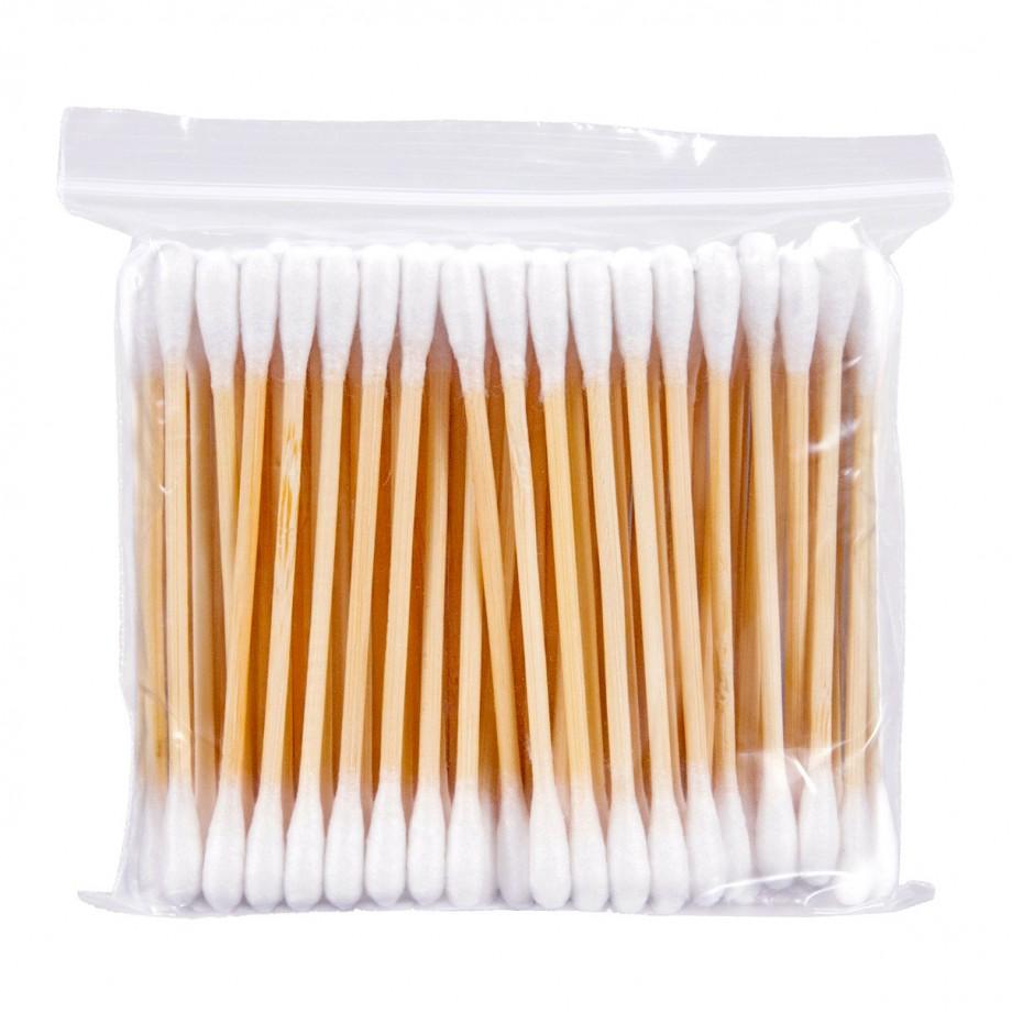 Bețișoare cosmetice din lemn - 100 buc